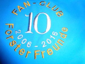 10 Jahre Fanclub Forster Freunde